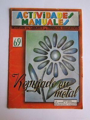 ACTIVIDADES MANUALES. REPUJADO EN METAL