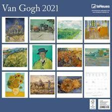 CALENDARIO 2021 VAN GOGH 30X30