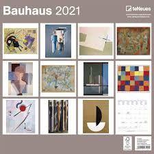 CALEDARIO 2021 BAUHAUS 30X30