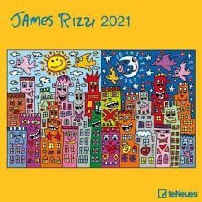 CALENDARIO 2021 JAMES RIZZI  30X30
