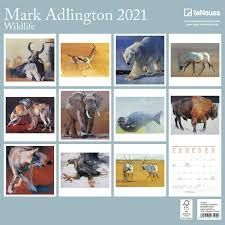 CALENDARIO 2021 MARK ADLINGTON - WILDLIFE – NEW 30X30