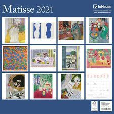 CALENDARIO 2021 MATISSE 30X30