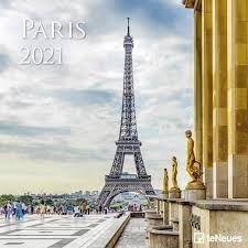 CALENDARIO 2021 PARIS 30X30