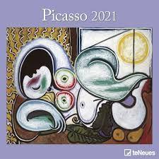 CALENDARIO 2021 PICASSO 30X30