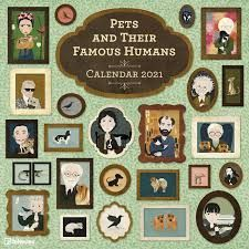 CALENDARIO 2021 PETS AND THEIR FAMOUS HUMANS – NEW  30X30