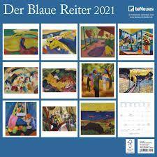 CALENDARIO 2021 DER BLAUE REITER – NEW 30X30