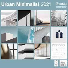 CALENDARIO 2021 URBAN MINIMALIST – NEW 30X30