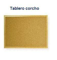TABLERO CORCHO 30 X 40