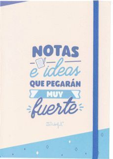 WONDERFUL LIBRETA CON NOTAS ADHESIVAS E IDEAS....