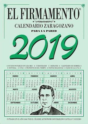 2021 - CALENDARIO ZARAGOZANO PARED - EL FIRMAMENTO