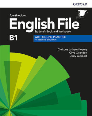 ENGLISH FILE 4TH EDITION B1 STUDENT'S BOOK AND WORKBOOK WITHOUT KEY PACK