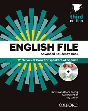 ENGLISH FILE ADVANCED STUDENT'S BOOK + WORKBOOK WITHOUT KEY PACK 3RD EDITION