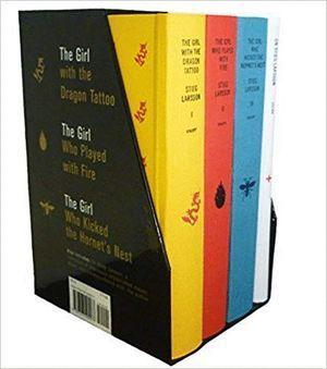 TIEG LARSSON'S MILLENNIUM TRILOGY DELUXE BOX SET: THE GIRL WITH THE DRAGON TATTOO, THE GIRL WHO PLAYED WITH FIRE, THE GIRL WHO KICKED THE HORNET'S NES