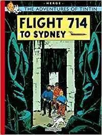 TINTIN FLIGHT 714 20 TD