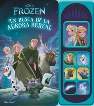 LIBRO MUSICAL 7 BOTONES FROZEN LUCES MÁGICAS