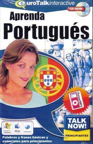 TALK NOW APRENDA PORTUGUES CD-ROM PRINCIPIANTES