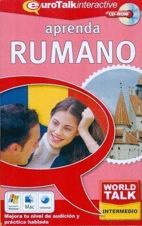 APRENDA RUMANO WORLD TALK INTERMEDIO CD-ROM