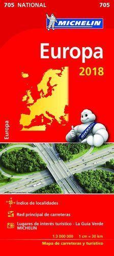 MAPA DE CARRETERAS EUROPA 2018