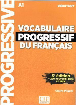 VOCABULAIRE PROGRESSIF DU FRANCAIS  3ED LIVRE-DE