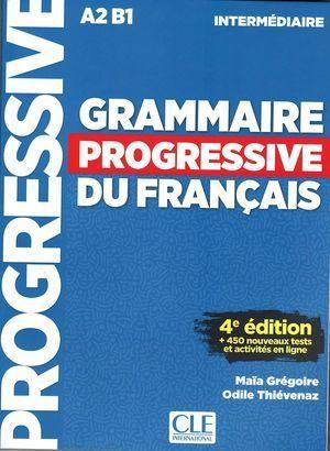 GRAMMAIRE PROGRESIVE DU FRANCAIS. INTER.4ª ED.