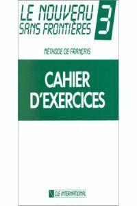 NOUVEAU SANS FRONTIERES 3 EXERCICES