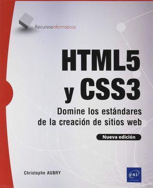 HTML5 Y CSS3 DOMINE LOS ESTANDARES DE CREACION DE SITIOS