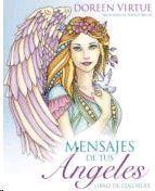 MENSAJE DE TUS ANGELES LIBRO DE COLOREAR