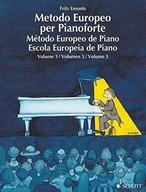 METODO EUROPEO PER PIANOFORTE VOL. 3