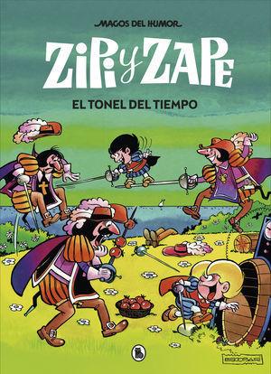 ZIPI Y ZAPE. EL TONEL DEL TIEMPO