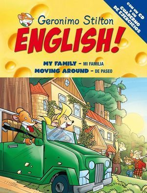 GERONIMO STILTON ENGLISH 5 MY FAMILY MOVING AROUND (INC.CD)