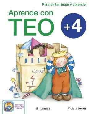 APRENDE CON TEO 4 AÑOS
