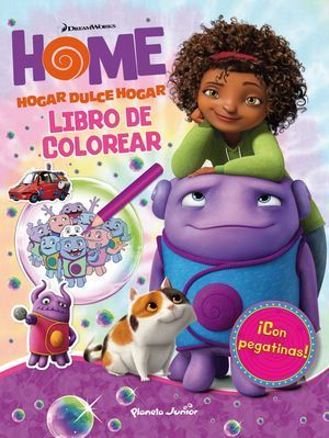 HOME. LIBRO DE COLOREAR