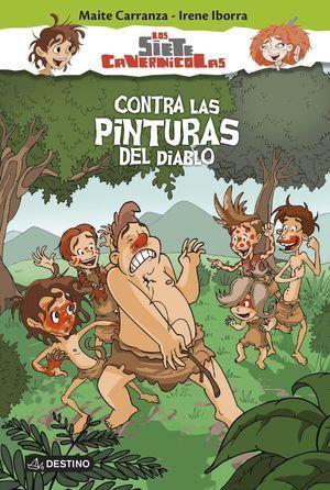 SIETE CAVERNICOLAS 2 . CONTRA LAS PINTURAS DEL DIABLO