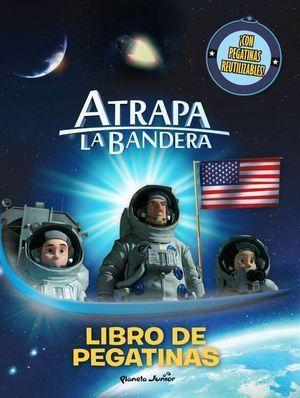 ATRAPA LA BANDERA. LIBRO DE PEGATINAS
