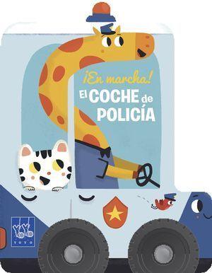 EL COCHE DE POLICÍA. SOBRE RUEDAS