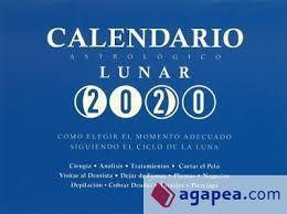 CALENDARIO ASTROLÓGICO LUNAR 2020