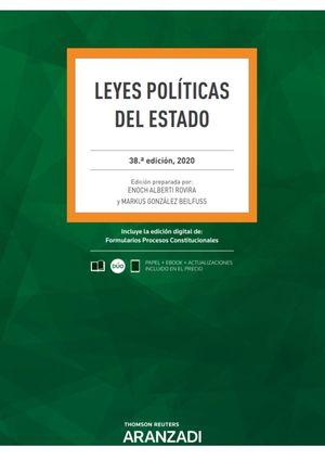 LEYES POLÍTICAS DEL ESTADO (PAPEL + E-BOOK)