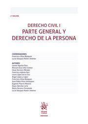 DERECHO CIVIL I PARTE GENERAL Y DERECHO DE LA PERSONA 2019