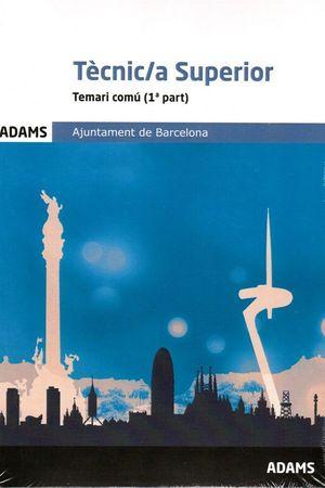 TECNIC SUPERIOR AJUNTAMENT DE BARCELONA TEMARI COMU (2 TOMOS)