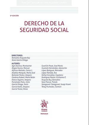 DERECHO DE LA SEGURIDAD SOCIAL 9ª EDICIÓN 2020