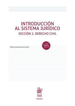 INTRODUCCION AL SISTEMA JURIDICO ( SECCION 2, DERECHO CIVIL )