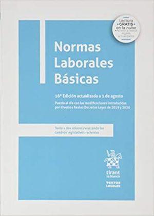 NORMAS LABORALES BÁSICAS