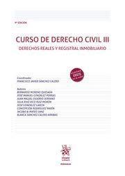 CURSO DE DERECHO CIVIL III