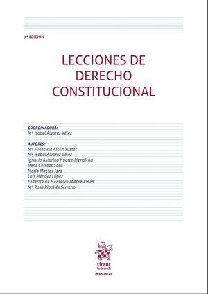 LECCIONES DE DERECHO CONSTITUCIONAL 7ª EDICIÓN 2020