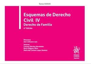 ESQUEMAS DE DERECHO CIVIL IV DERECHO DE FAMILIA