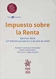 IMPUESTO SOBRE LA RENTA 12ª EDICIÓN 2020
