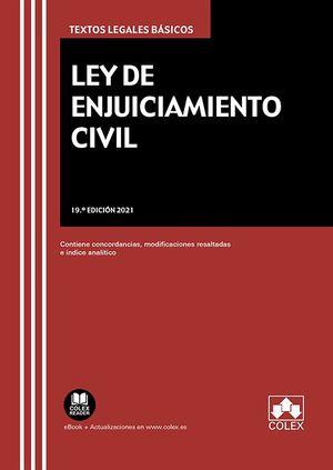 2021 LEY DE ENJUICIAMIENTO CIVIL