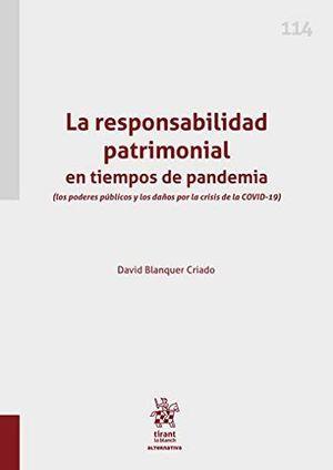 LA RESPONSABILIDAD PATRIMONIAL EN TIEMPOS DE PANDEMIA