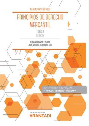 PRINCIPIOS DE DERECHO MERCANTIL (TOMO II)