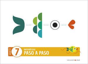 3EI PASO A PASO CUADERNO 7 NIVEL 3 EDELVIVES 2020